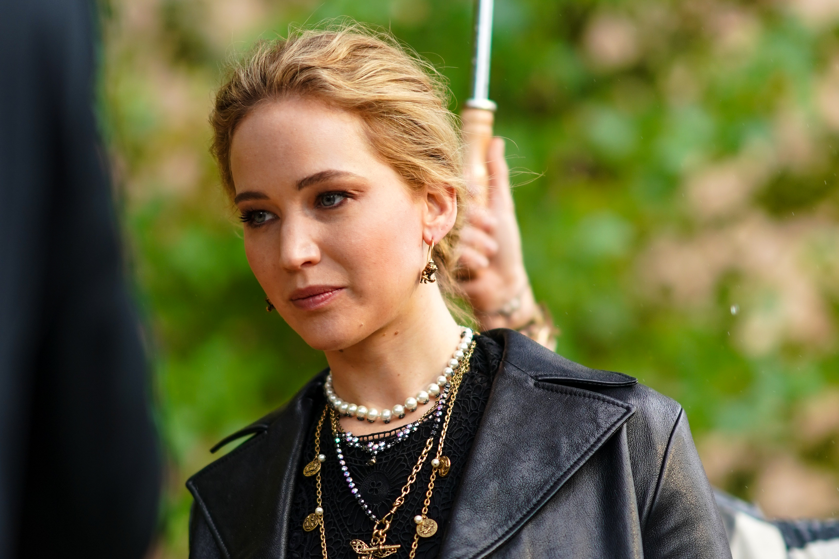 Jennifer Lawrence's family farm has been burned down (Photo by Edward Berthelot/Getty Images)