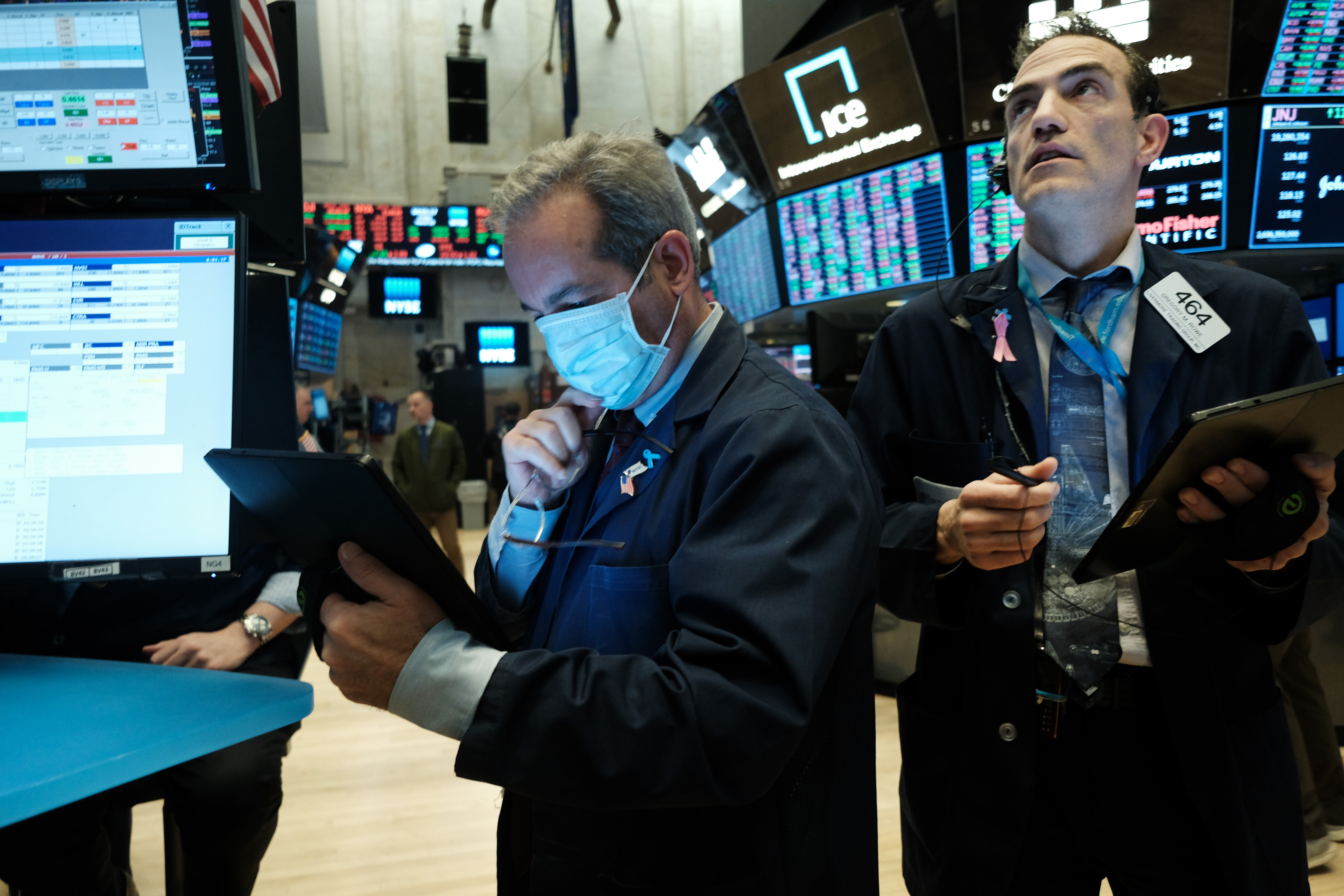 Stock Market News Live Updates Stocks Drop After Intel Disappoints Us China Worries Flare