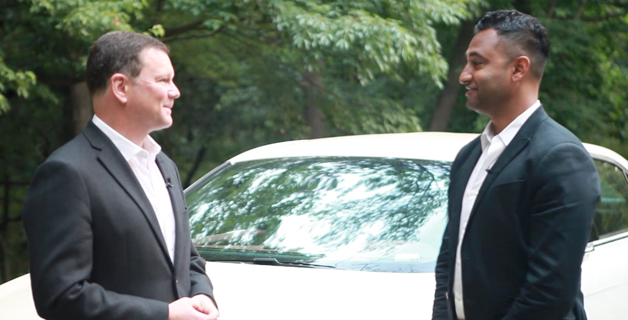 2 Dudes in a Car: Blissing out in the Lincoln Continental