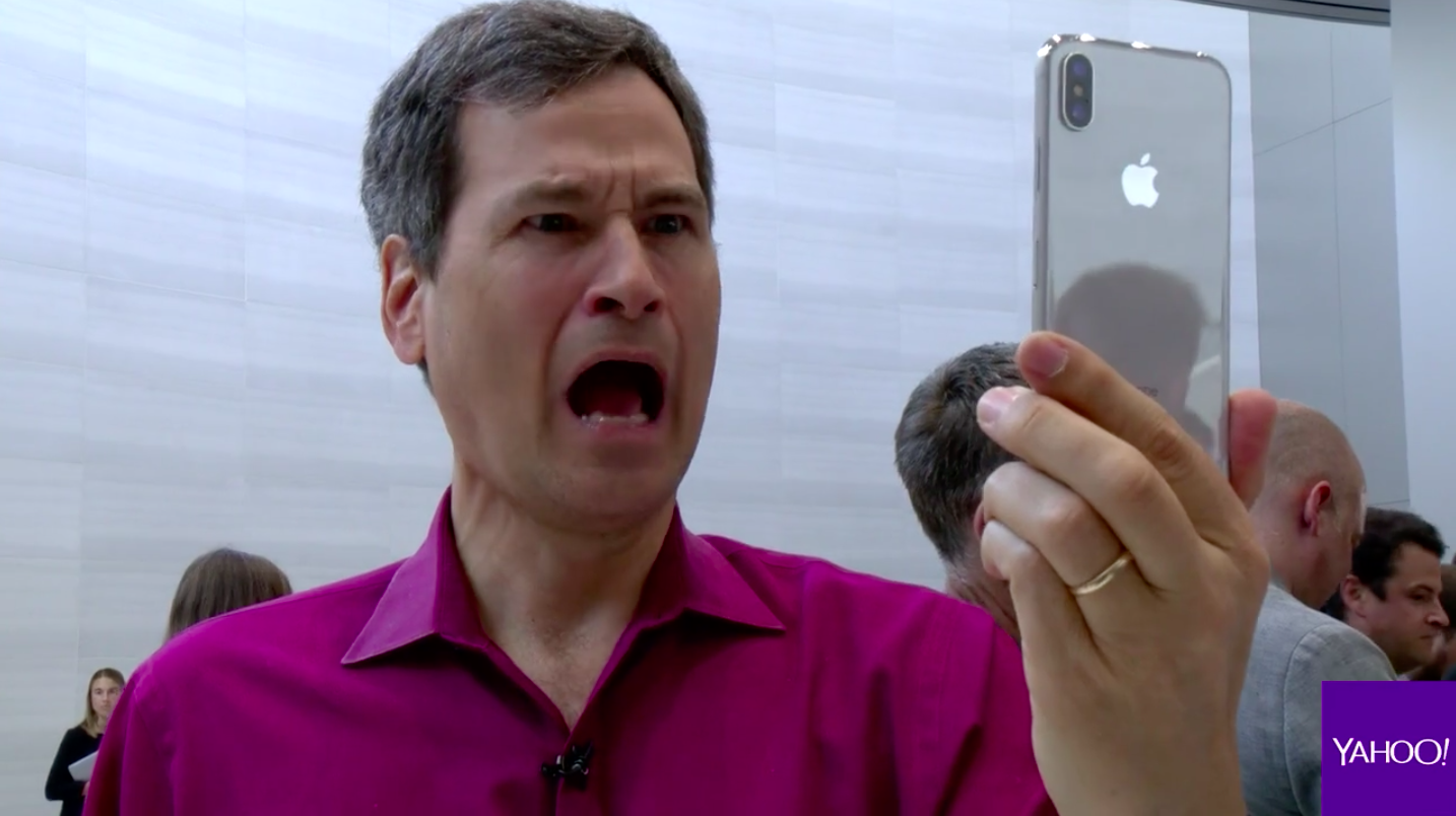 The $999, eyebrow-raising iPhone X: David Pogue's hands-on review