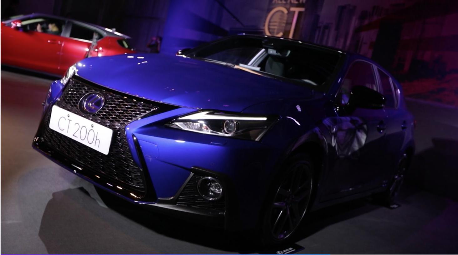 【HD影片】售價139萬!2018年式全新改款 LEXUS CT 200h 正式上市