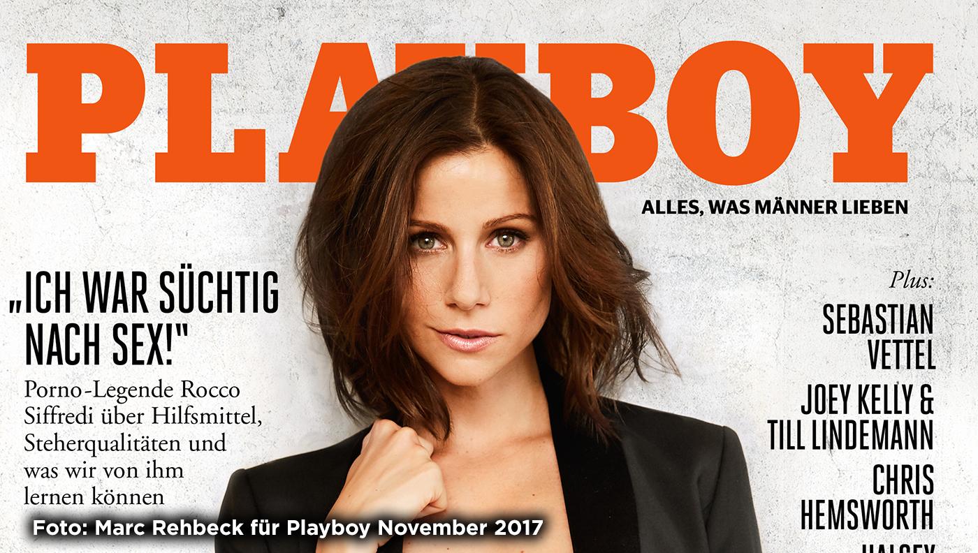 Katrin Heß: Playboy-Cover mit wichtiger Botschaft