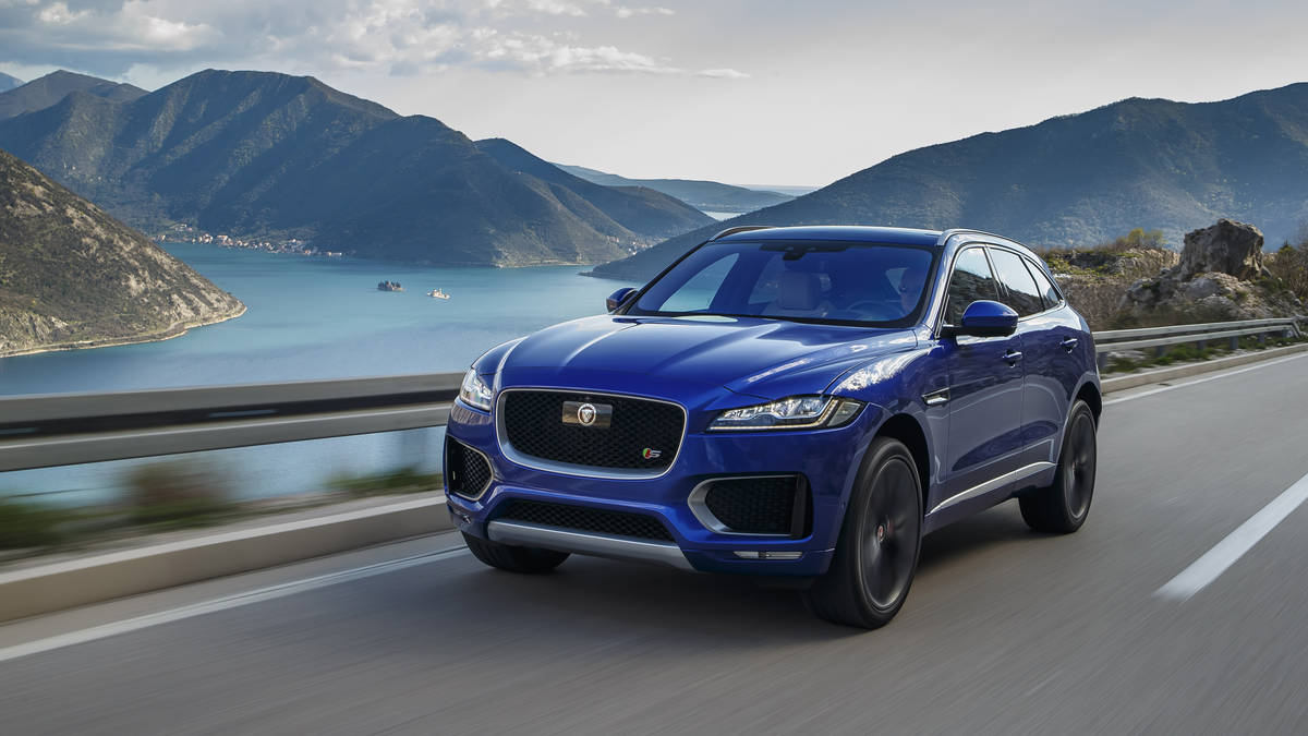 Stalking The Suburbs In The Jaguar F Pace S Video