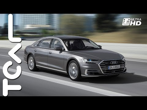 神盾艦 Audi All New A8 L 60 TFSI quattro 西班牙試駕 - TCAR