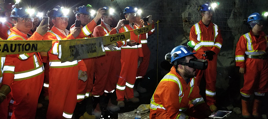 NORCAT Underground Centre is an operating test