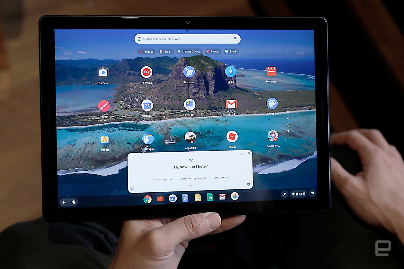 Google Assistant on the Pixel Slate