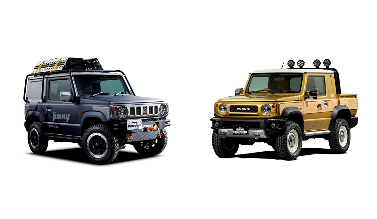 Etwas Neues genug Suzuki Jimny pickup truck concept to debut at Tokyo Auto Salon &QF_38