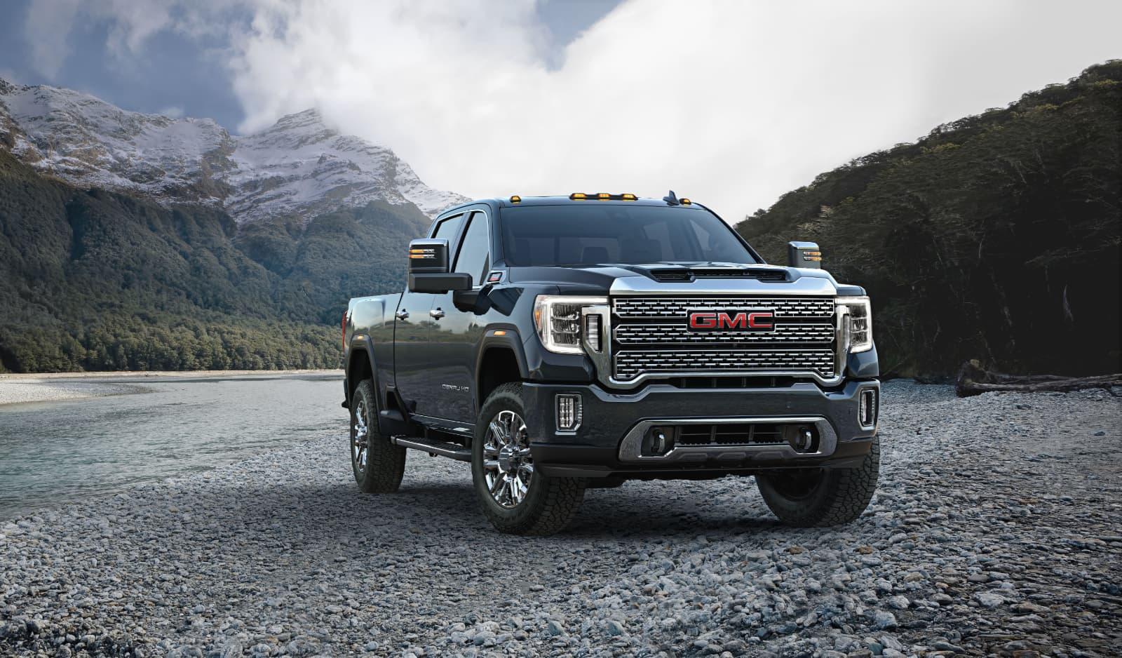 GMC 2020 Sierra Heavy Duty pickup truck