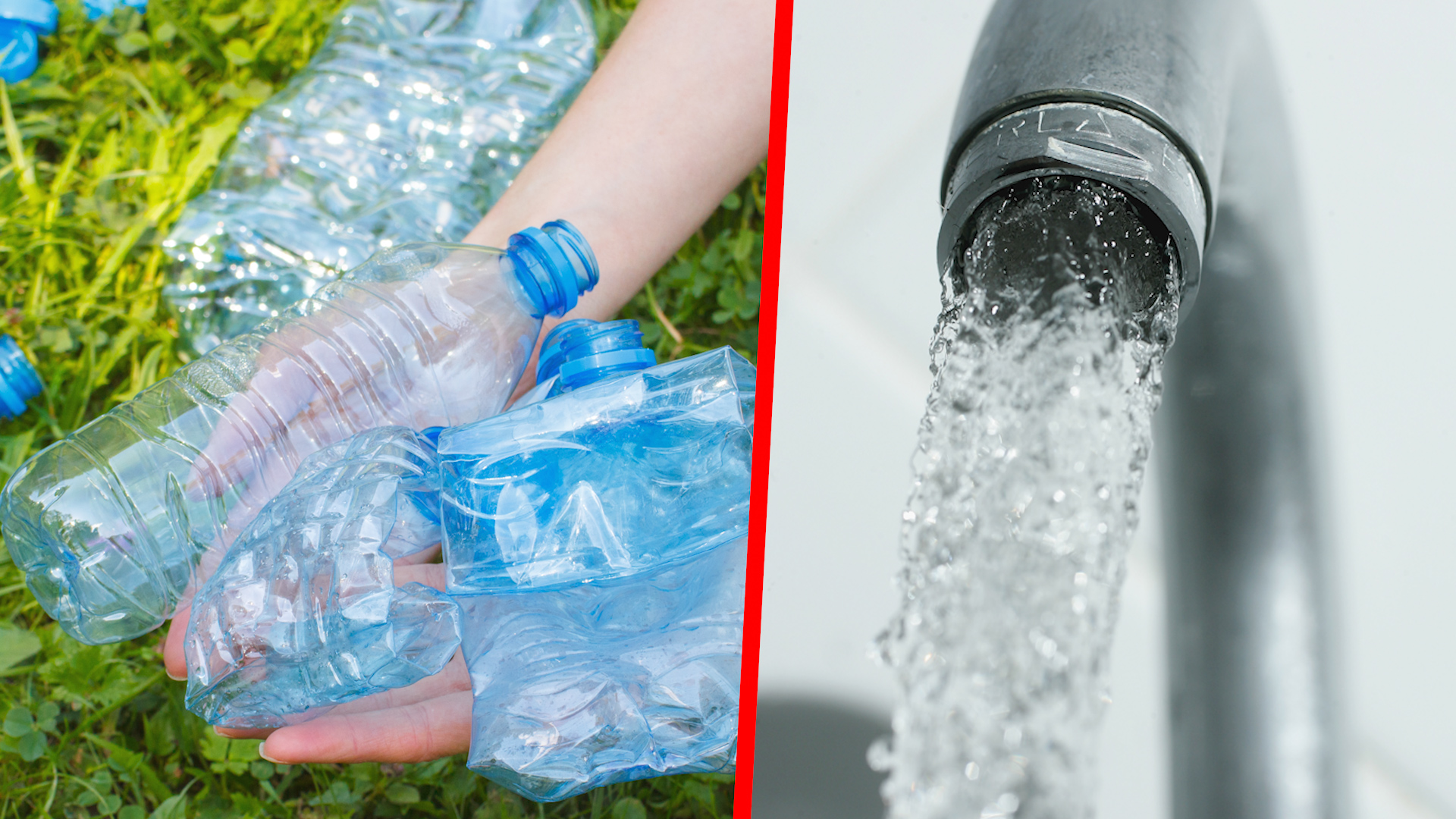 Leitungswasser Oder Mineralwasser