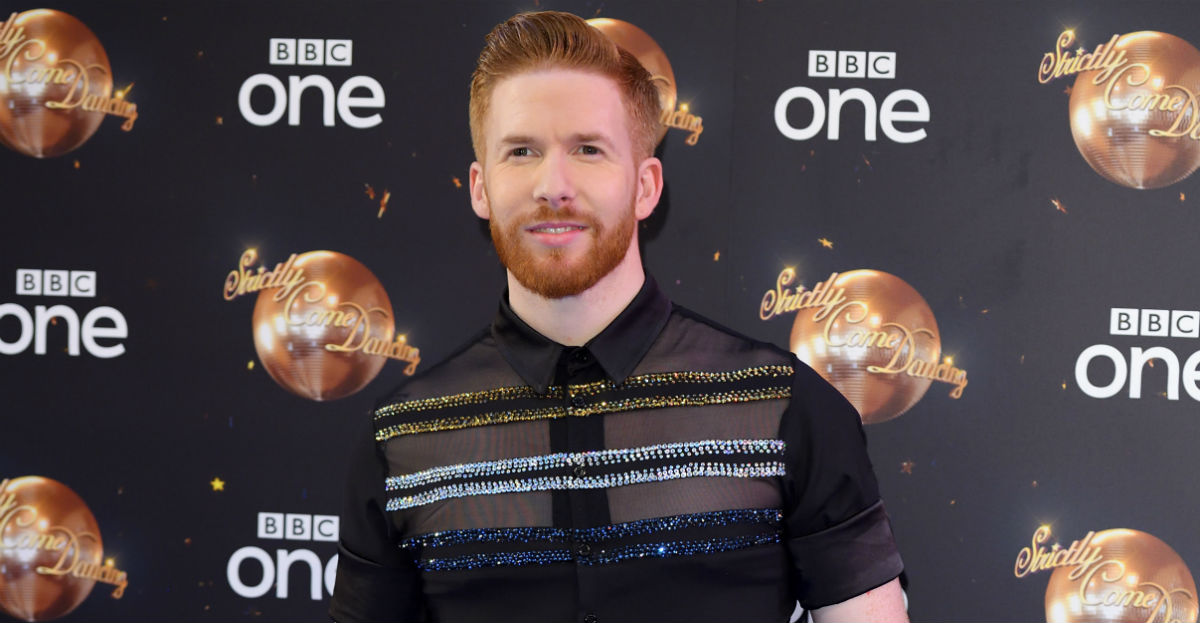 'Strictly Come Dancing's' Neil Jones has been tattooing himself during lockdown