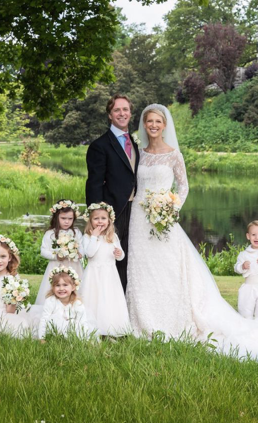 26562658d8a Lady Gabriella Windsor s First Kiss at Her Royal Wedding Was Hilariously  Photobombed by a Page Boy