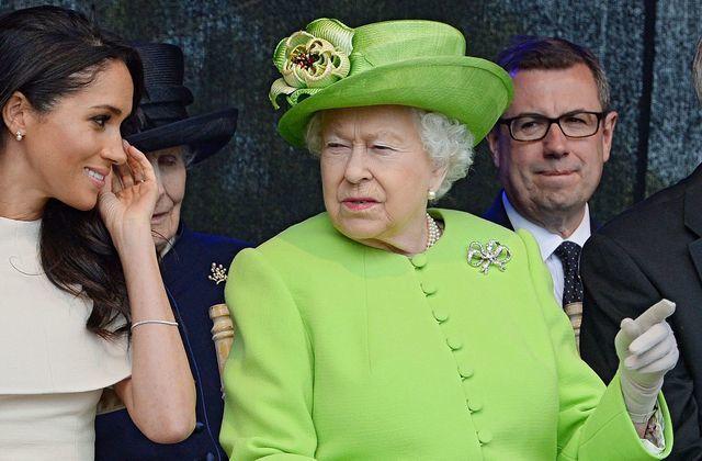 Queen and Meghan