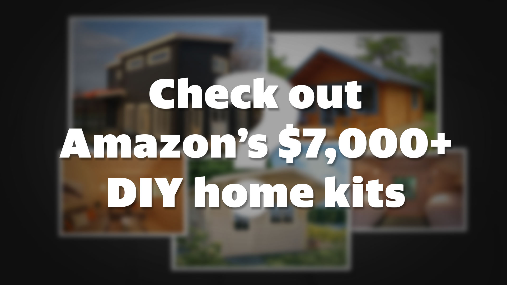 Build-it-yourself house kits are being sold on Amazon