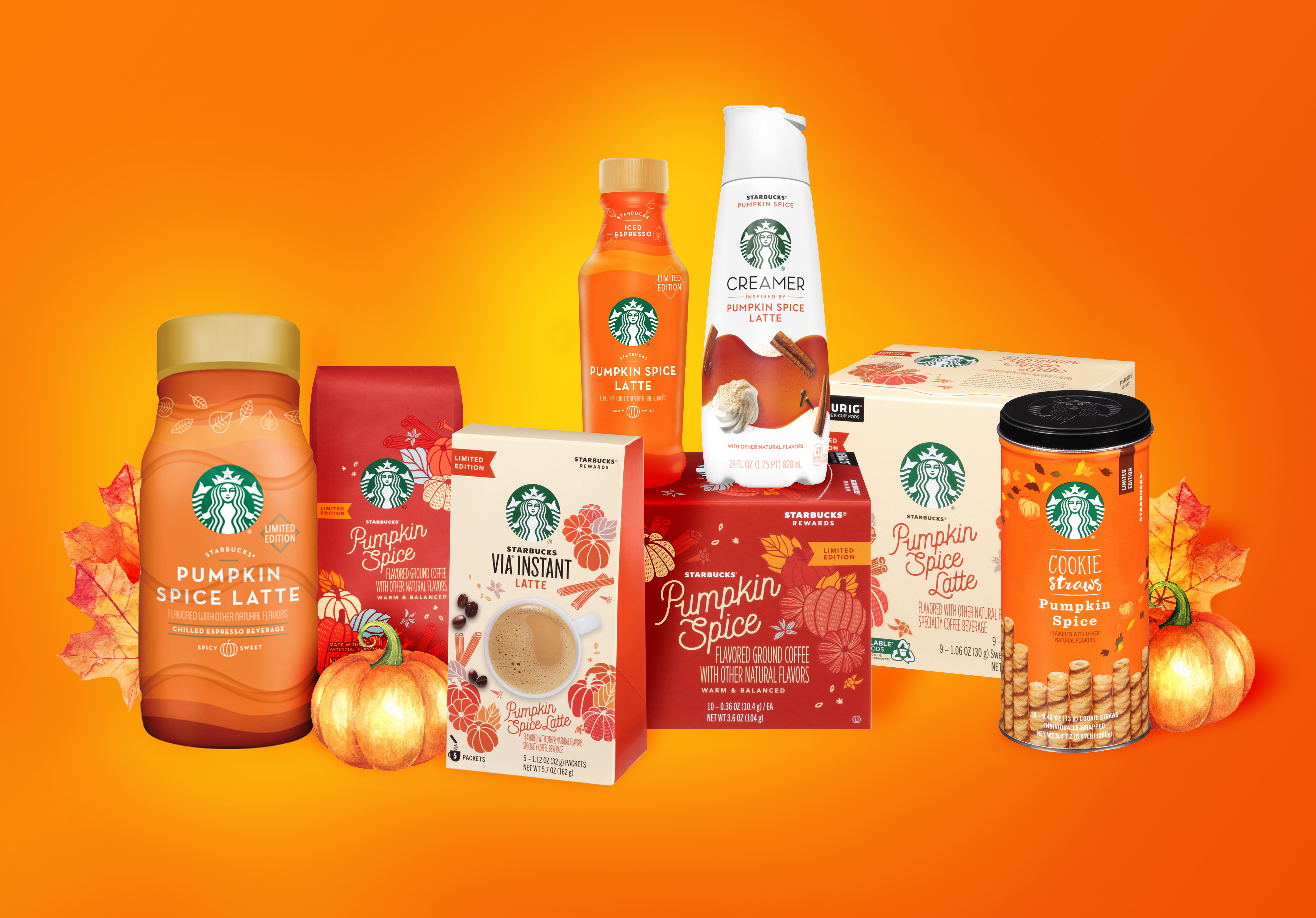 Starbucks Just Released New Pumpkin Spice Creamer For At