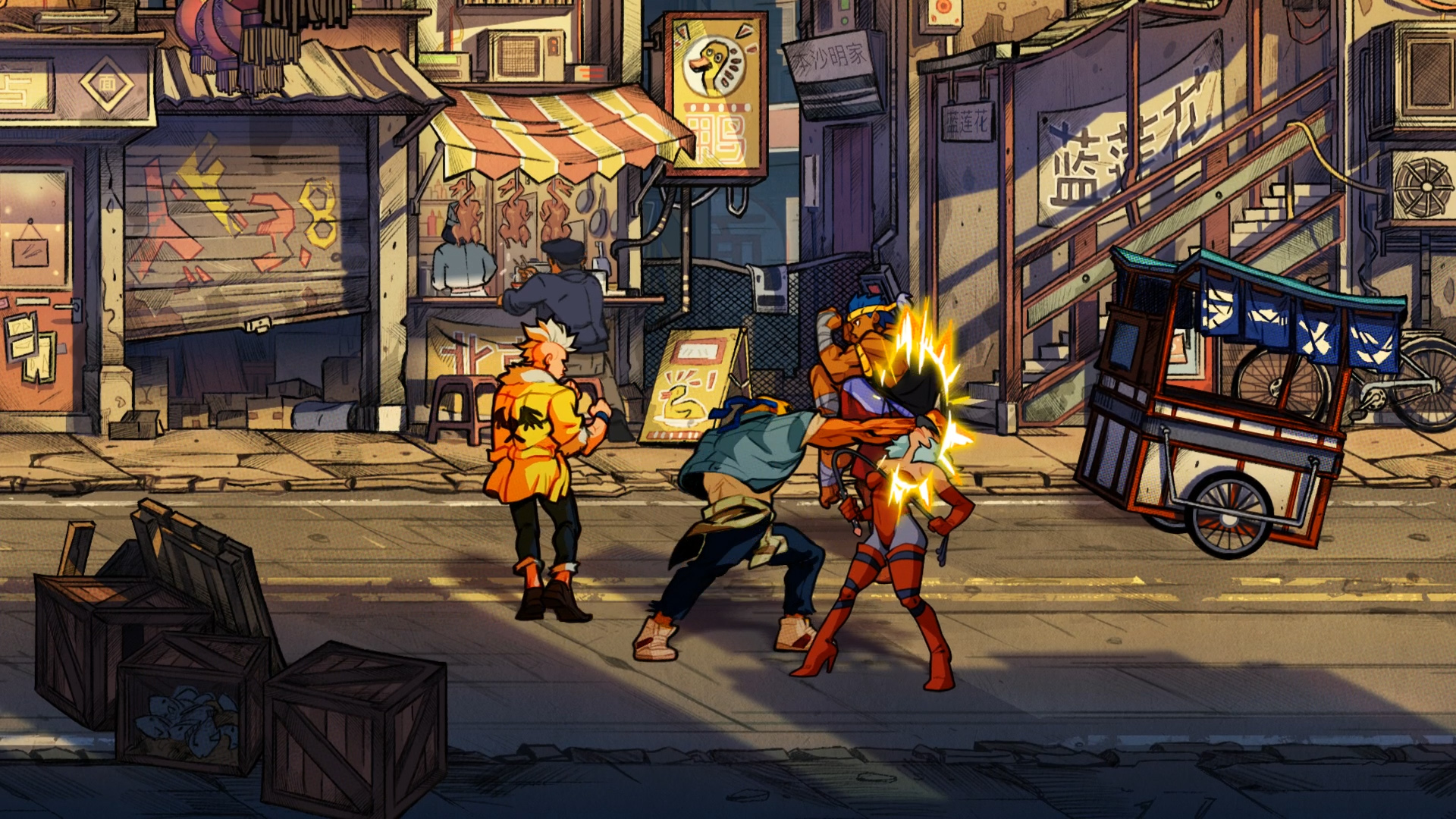 Streets Of Rage 4 Is Shaping Up To Be A Worthy Sequel Engadget