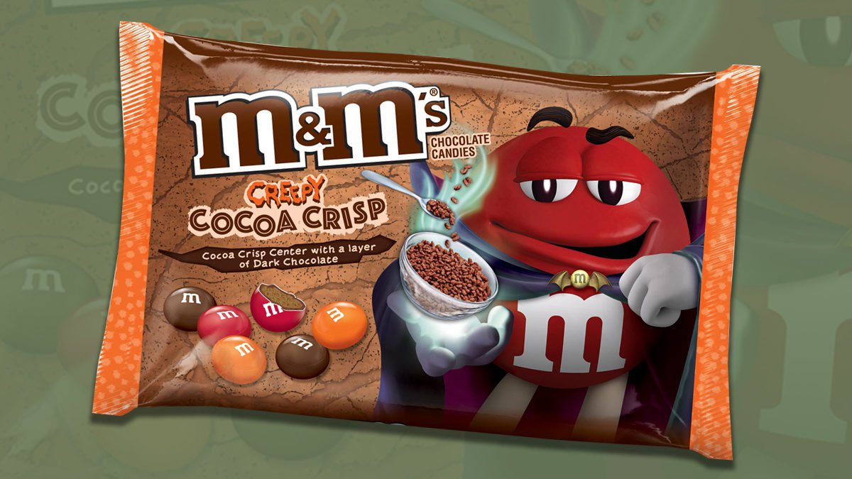 M&M's new creepy cocoa crisp candies are coming for