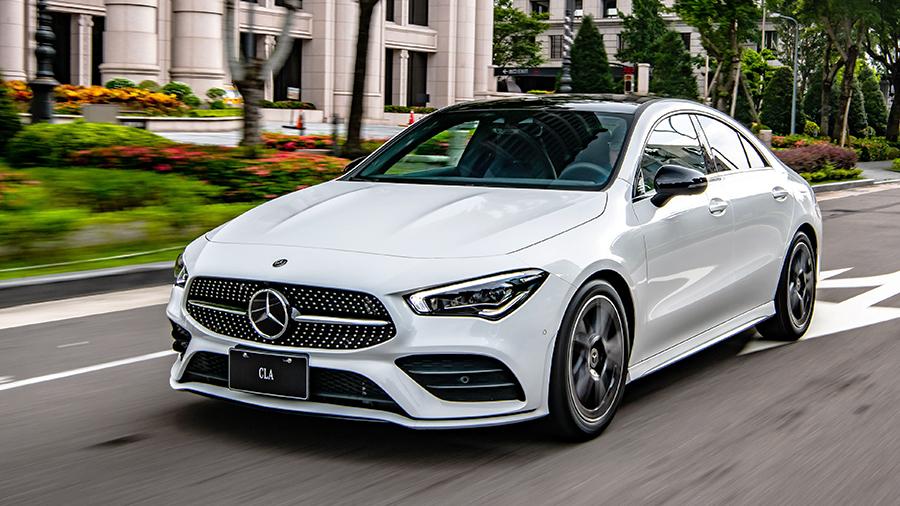 Mercedes-Benz The new CLA登場 搭載MBUX 就是無法低調!