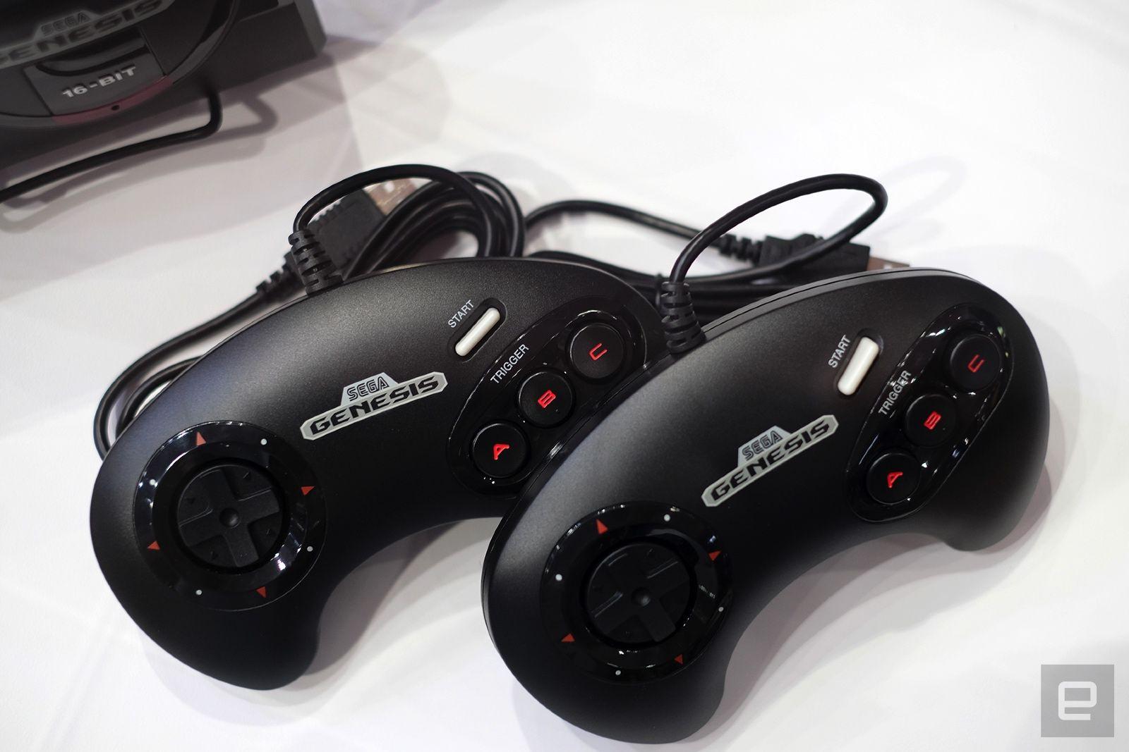 Sega Genesis Mini controllers