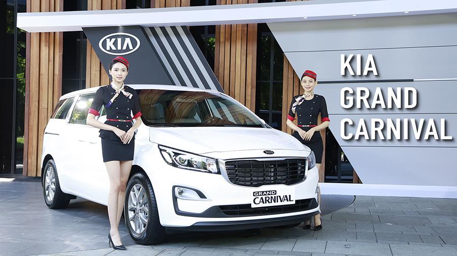 138.9萬起 KIA Grand Carnival登台 韓系的豪華商務艙體驗!
