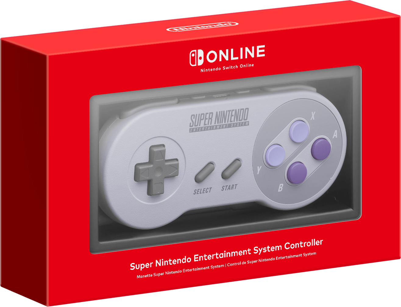 Switch Online Super Nintendo Entertainment System Controller image