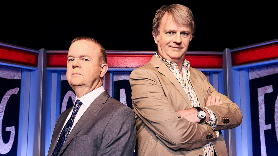 Ian Hislop and Paul Merton have been team captains on 'Have I Got News For You' since the show launched in 1990. (Credit: BBC)