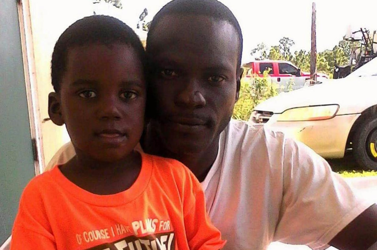 Boy, 5, swept away by Hurricane Dorian after father puts him