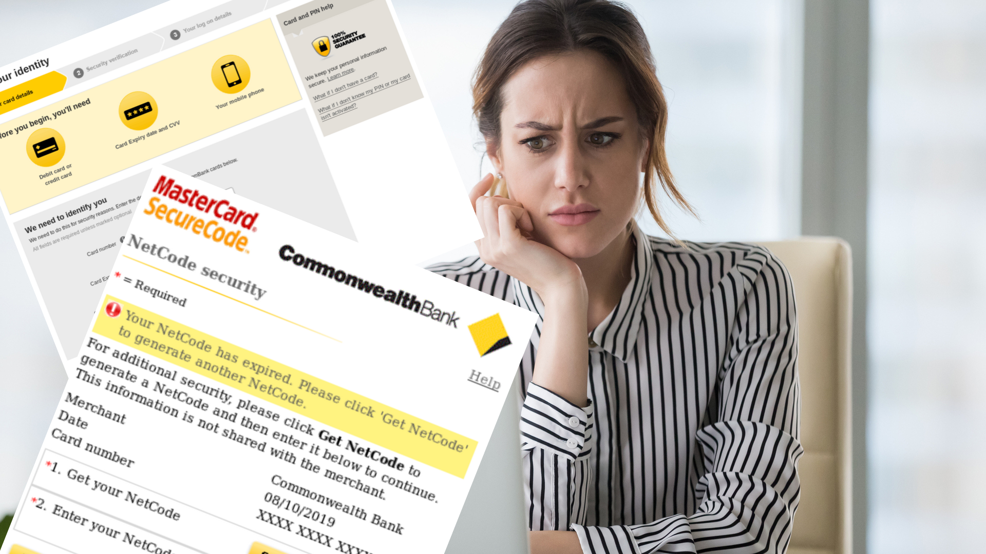 Convincing New Commonwealth Bank Scam Scrapes Victims Card Details