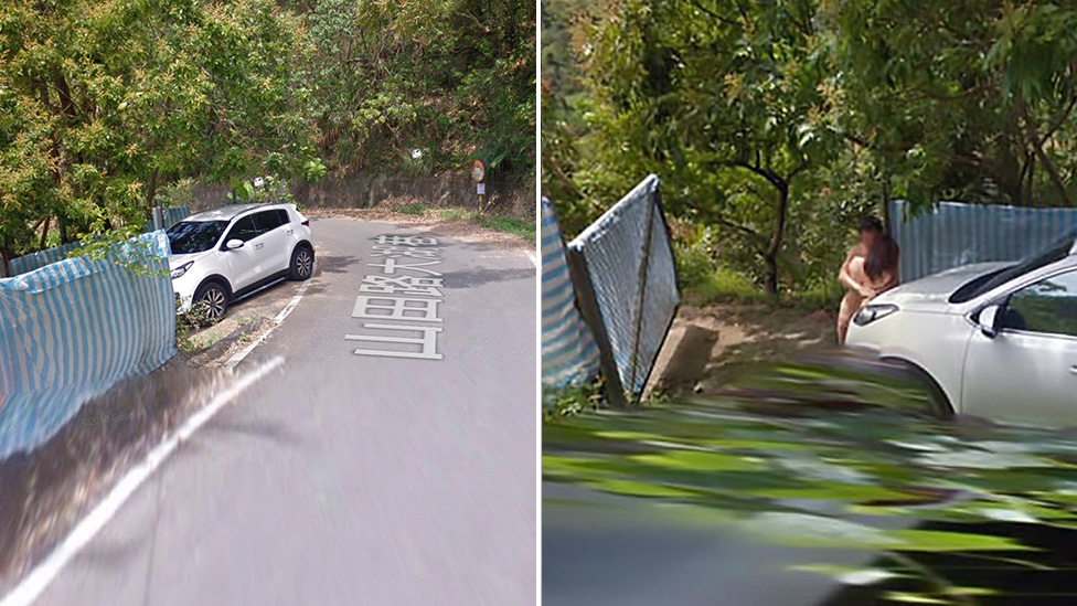 Google Street View Captured A Naked Couple Hugging In