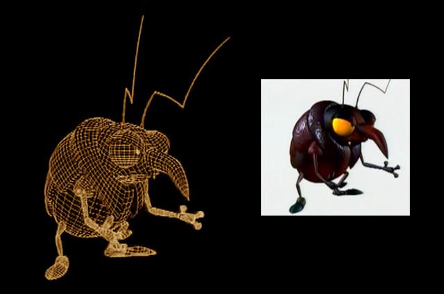 Insektors wireframe vs final