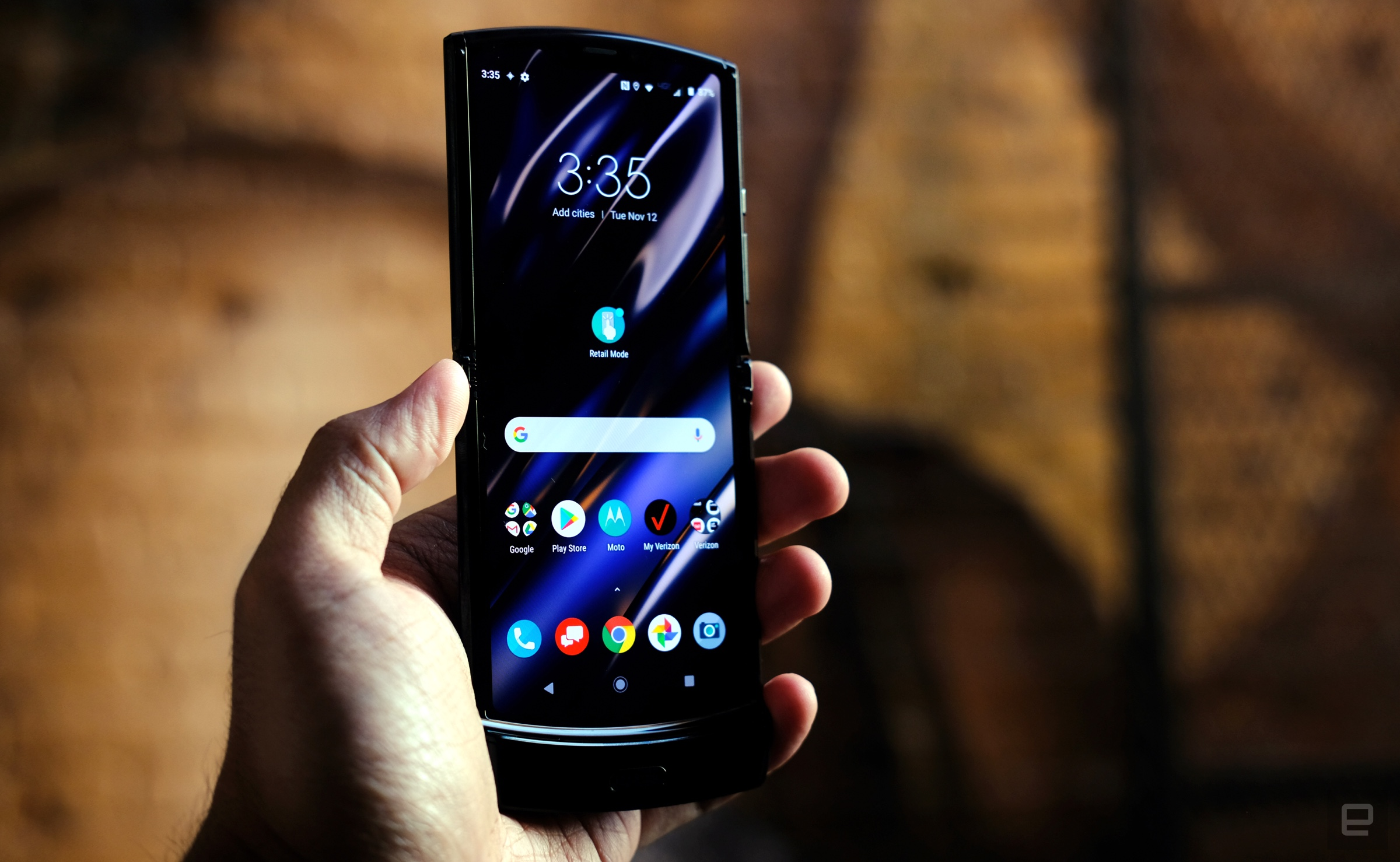 Motorola RAZR foldable hands-on