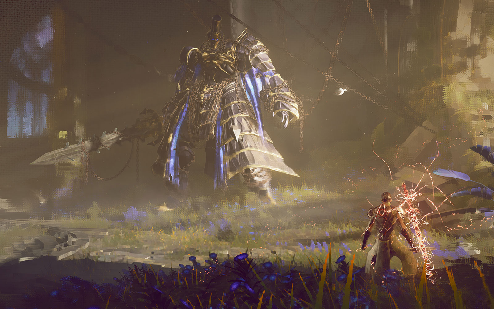 Square Enix will show off 'Babylon's Fall' from PlatinumGames during E3 | Engadget