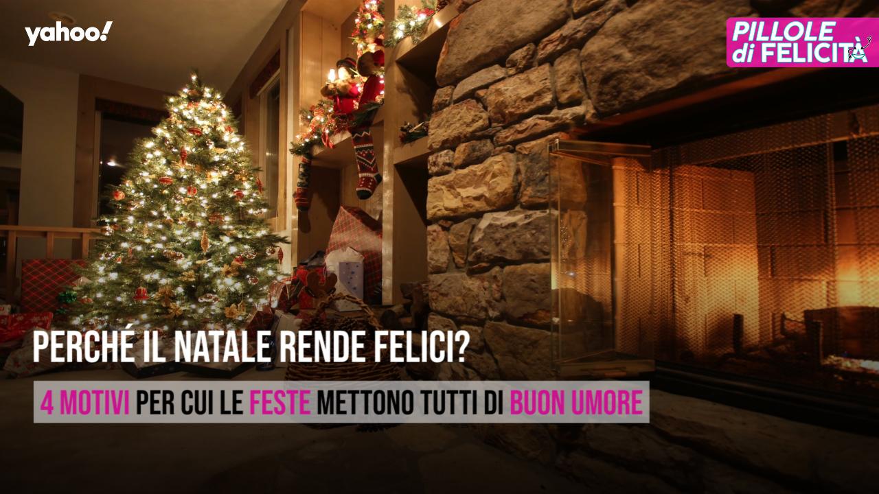 Albero Di Natale Yahoo.Perche Il Natale Rende Felici Video