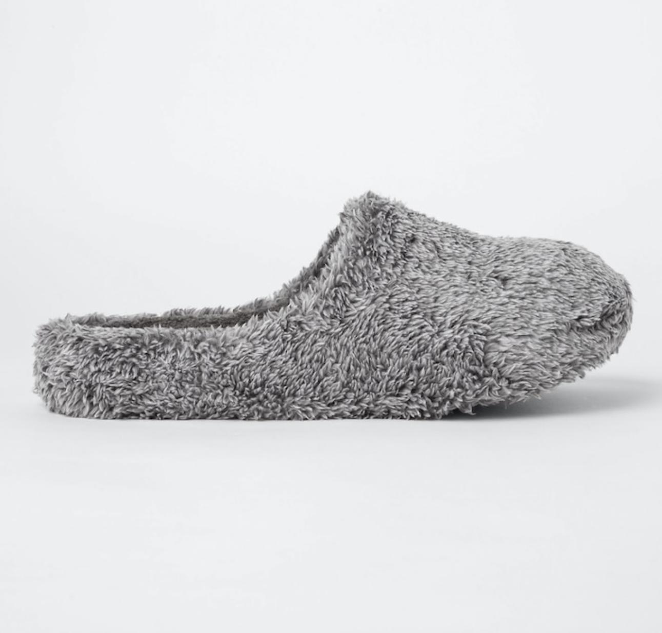 Uniqlo Fluffy Yarn Fleece Slippers