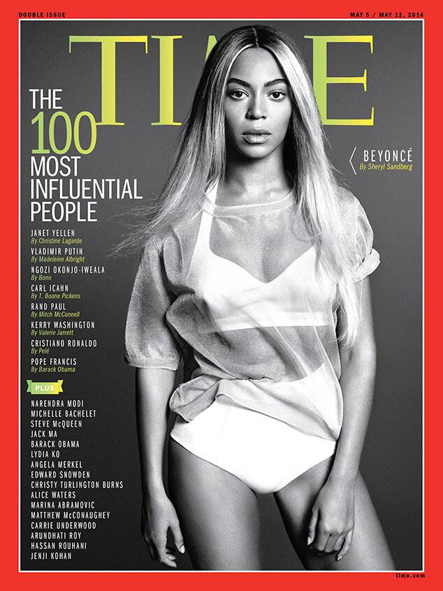Beyoncé covers Time magazine
