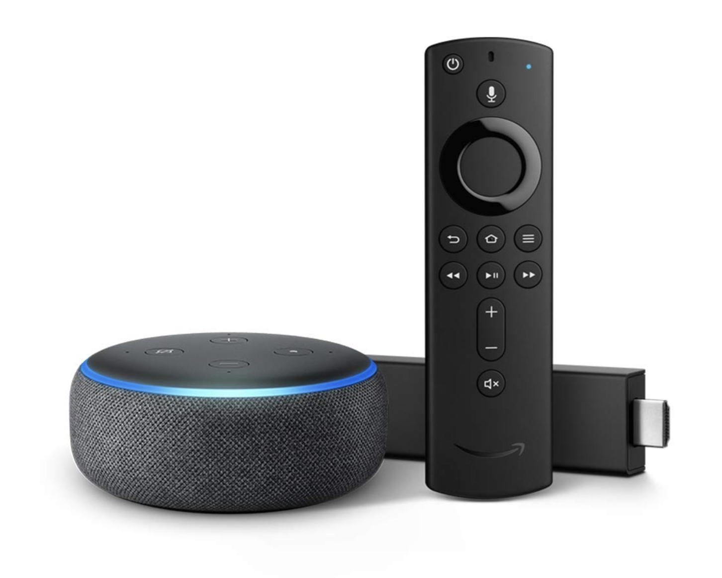 Fire TV Stick 4K Bundle with Echo Dot