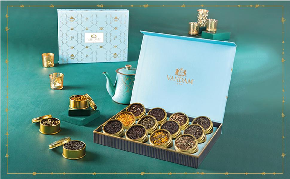 VAHDAM Assorted Tea Gift Set