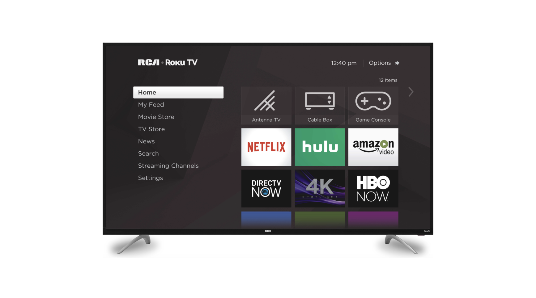 RCA 65-inch class 4K ultra HD HDR Roku smart LED TV