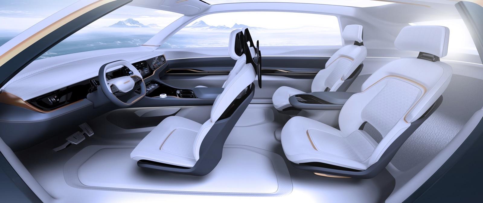 Fiat Chrysler Airflow Vision concept car
