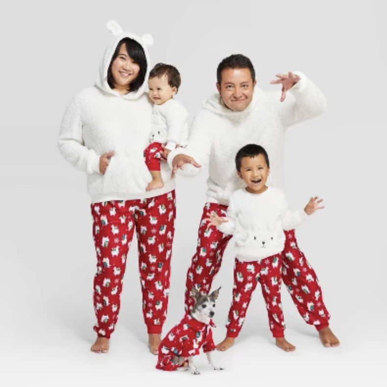 Holiday Llama Family Pajamas