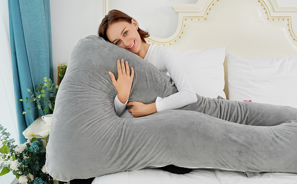 Meiz U-Shaped Body Pillow