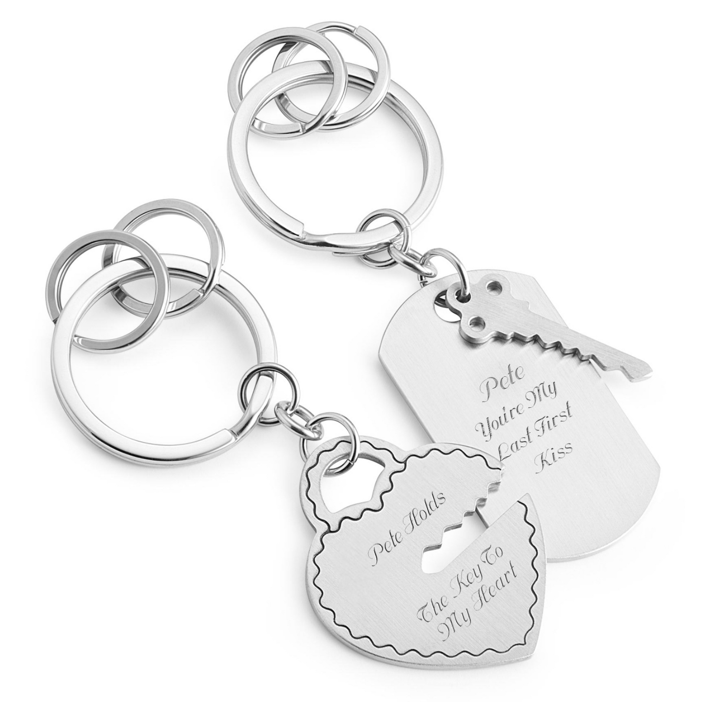 Key to my heart keychain set from Things Remembered