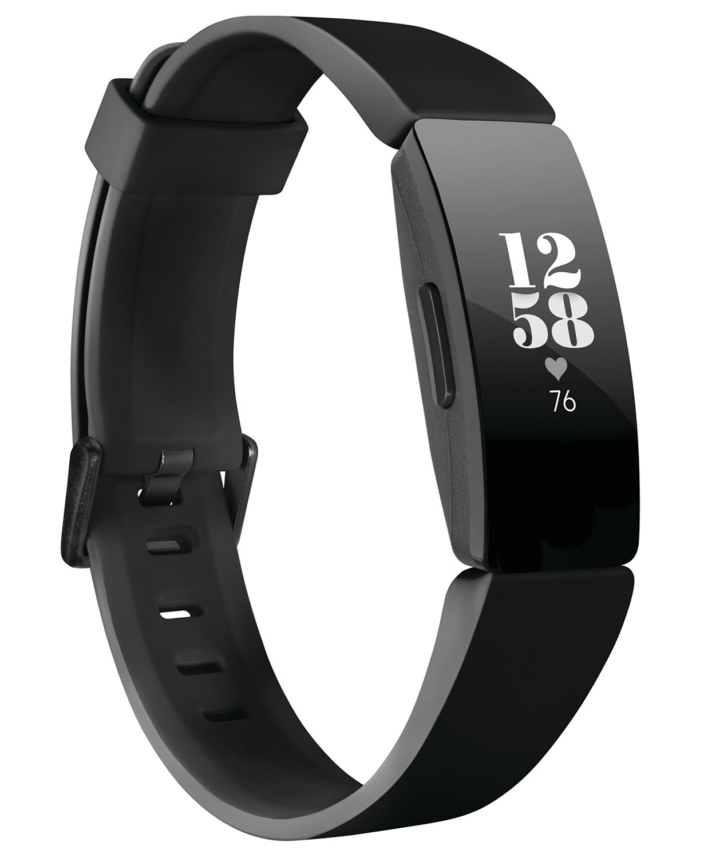 Fitbit Inspire HR Black Strap Activity Tracker