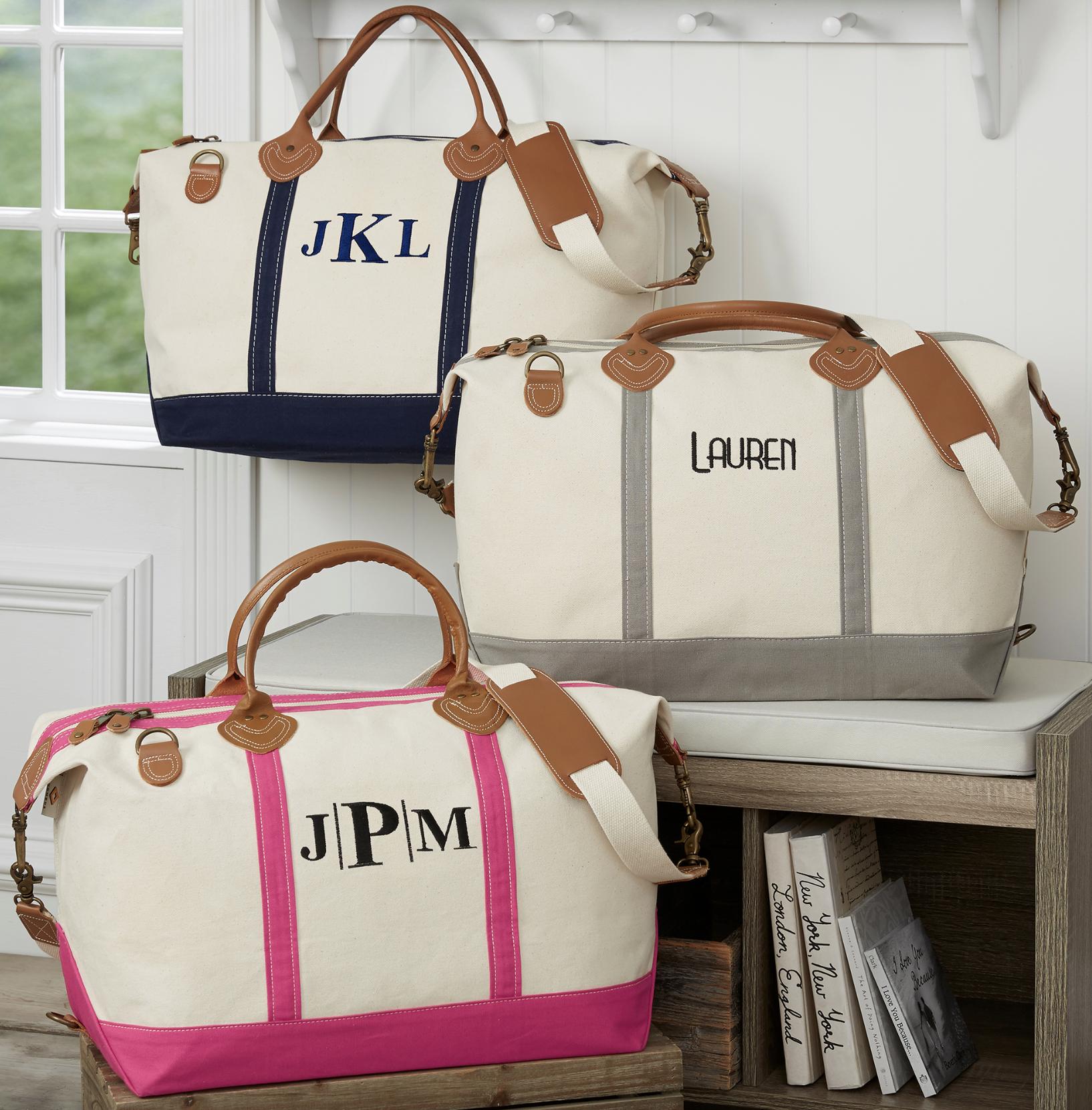 Monogrammed/Personalized Duffel Bag