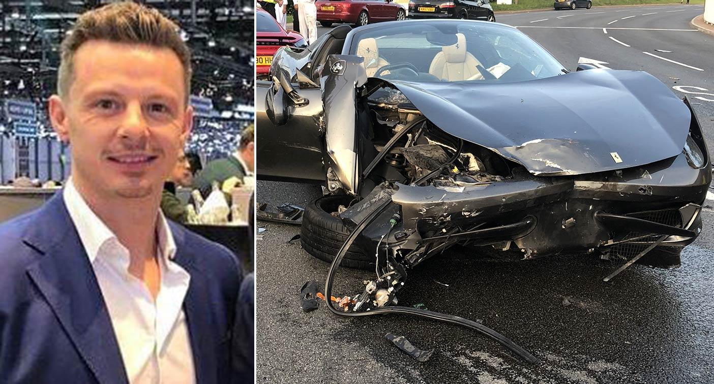 Millionaire Supercar Dealer Spared Jail After Roundabout Crash