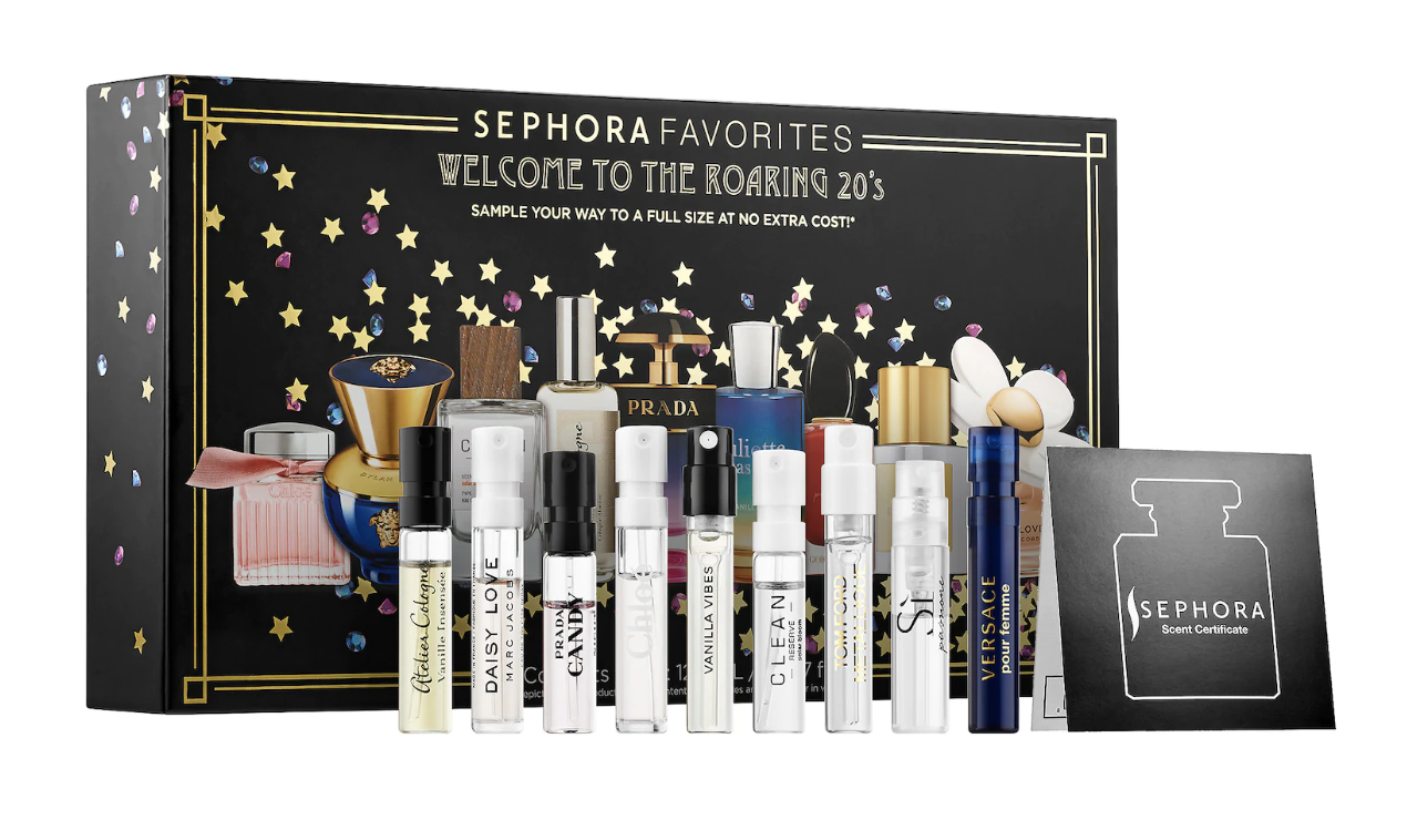 Sephora Favorites New Year's Perfume Sampler Set