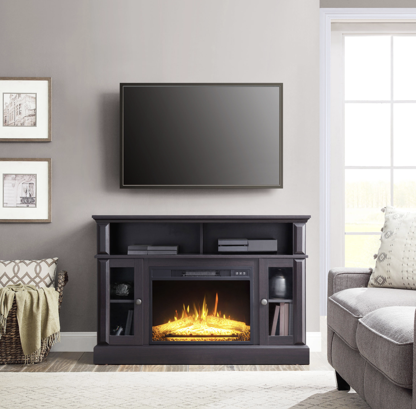 Whalen Barston Media Fireplace