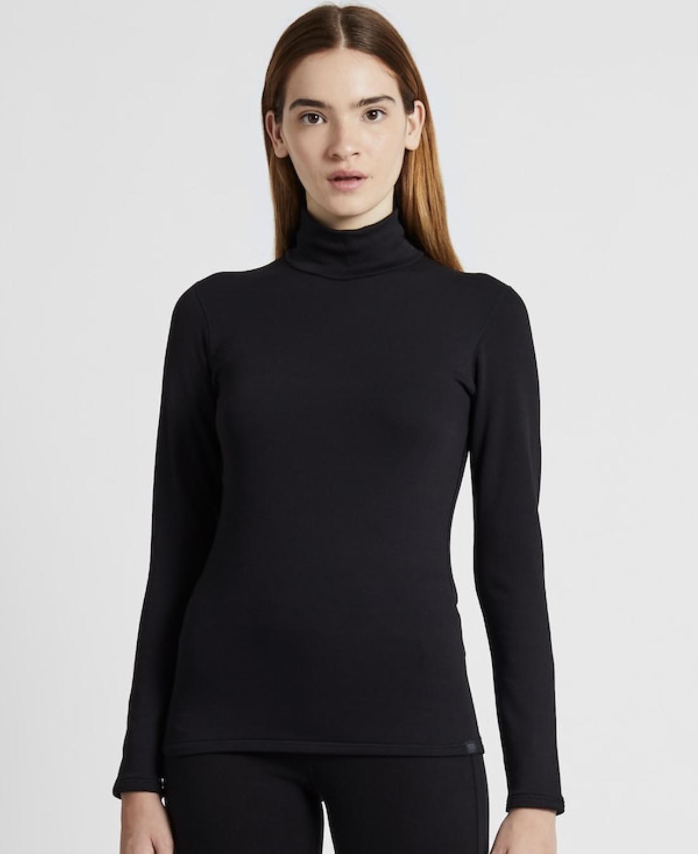 Women Heattech Ultra Warm High-Neck T-Shirt