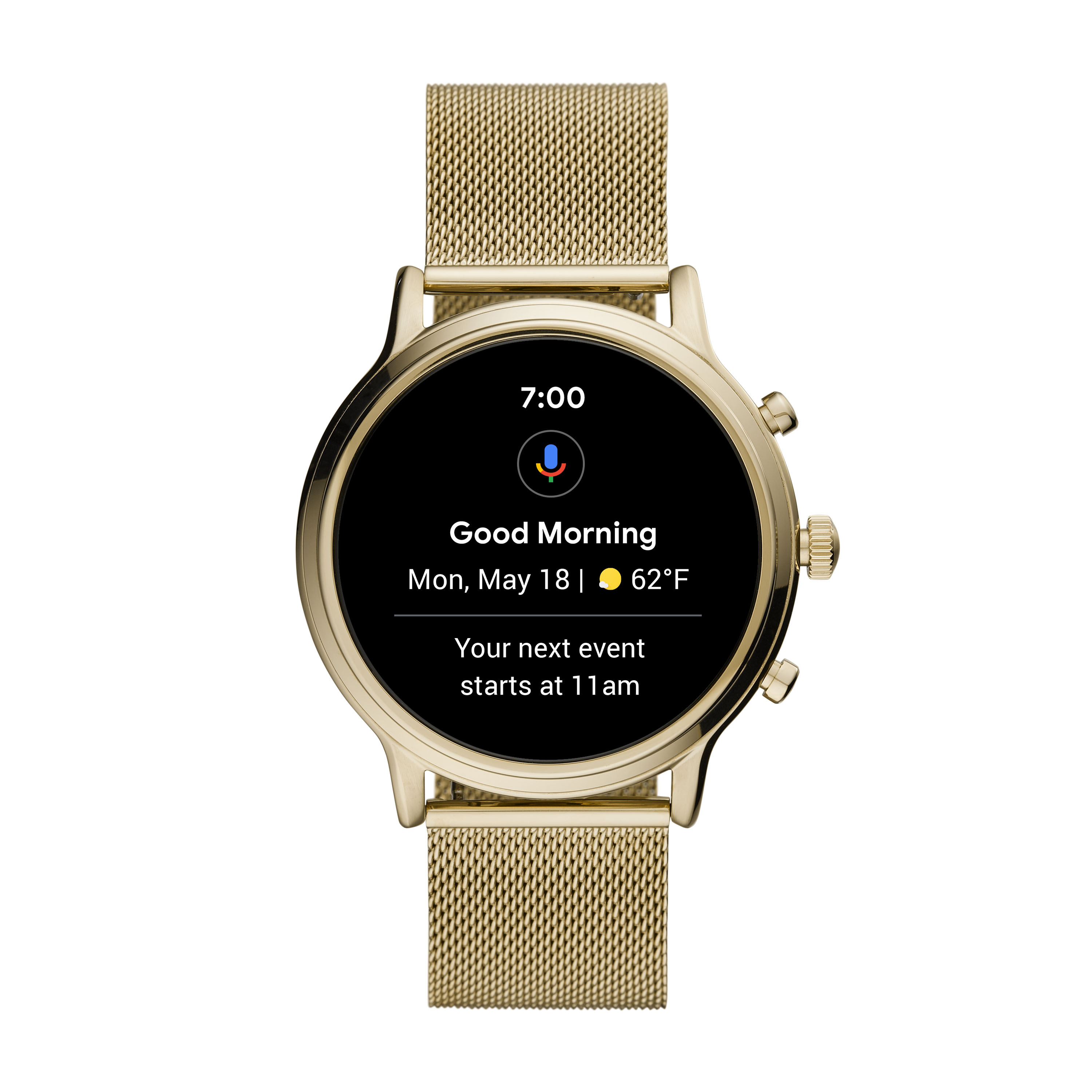 Fossil Gen 5 smartwatch at CES 2020