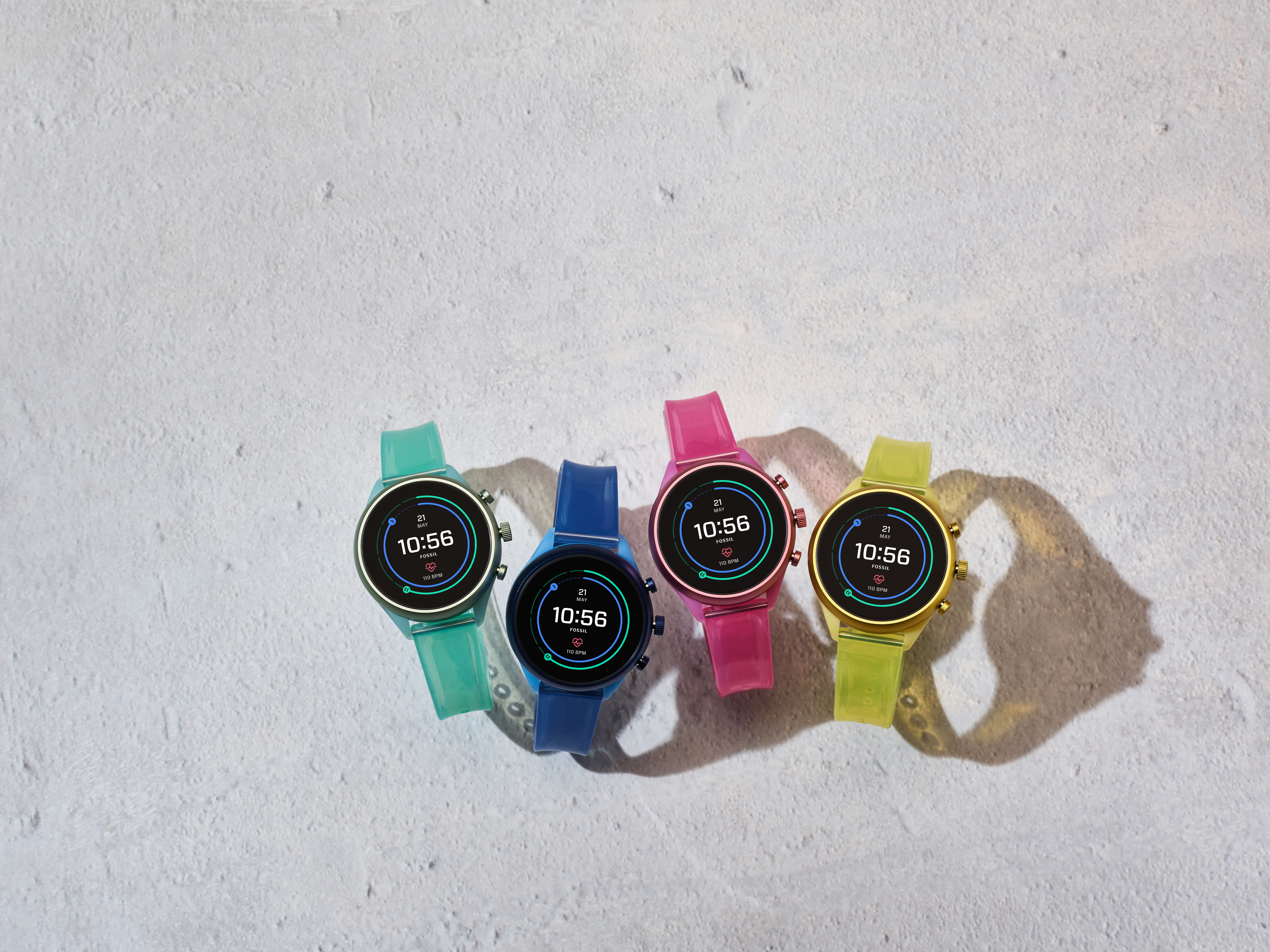 Fossil Sport at CES 2020