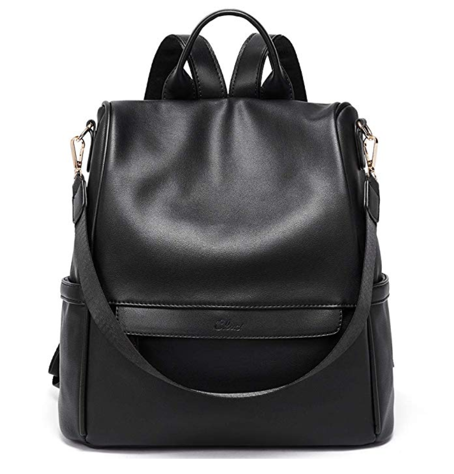 Cluci convertible leather travel bag